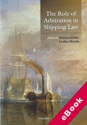 Cover of The Role of Arbitration in Shipping Law (eBook)