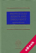 Cover of Proprietary Rights and Insolvency (eBook)