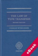 Cover of The Law of TUPE Transfers (eBook)