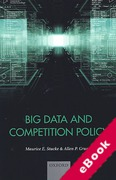Cover of Big Data and Competition Policy (eBook)