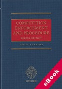 Cover of Competition Enforcement and Procedure (eBook)
