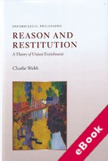 Cover of Reason and Restitution: A Theory of Unjust Enrichment (eBook)