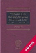 Cover of Treatise on International Criminal Law Volume III: International Criminal Procedure (eBook)