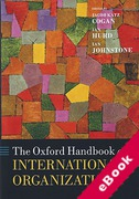Cover of The Oxford Handbook of International Organizations (eBook)