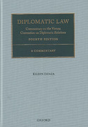 Cover of Diplomatic Law: Commentary on the Vienna Convention on Diplomatic Relations