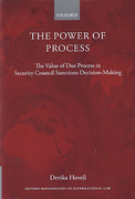 Cover of The Power of Process: The Value of Due Process in Security Council Sanctions Decision-Making
