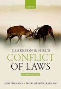 Cover of Clarkson & Hill's Conflict of Laws