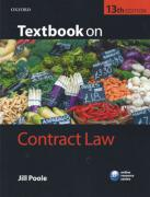 Cover of Textbook on Contract Law