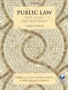 Cover of Public Law: Text, Cases, and Materials
