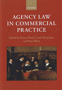Cover of Agency Law in Commercial Practice