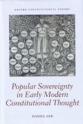 Cover of Popular Sovereignty in Early Modern Constitutional Thought