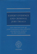 Cover of Expert Evidence and Criminal Jury Trials