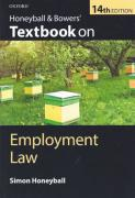 Cover of Honeyball & Bowers' Textbook on Employment Law