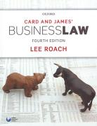 Cover of Card & James' Business Law
