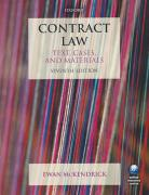 Cover of Contract Law: Text, Cases and Materials