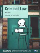 Cover of Criminal Law Directions