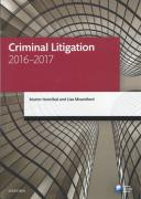 Cover of Criminal Litigation 2016 - 2017
