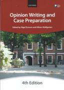 Cover of Bar Manual: Opinion Writing and Case Preparation