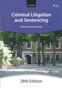 Cover of Bar Manual: Criminal Litigation and Sentencing