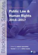 Cover of Blackstone's Statutes on Public Law & Human Rights: 2016-2017