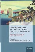 Cover of International Economic Law and Governance: Essays in Honour of Mitsuo Matsushita