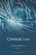 Cover of Core Texts Series: Criminal Law