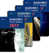 Cover of Blackstone's Police Manuals 2017: Four Volume Set