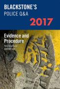 Cover of Blackstone's Police Q&A: Evidence & Procedure 2017