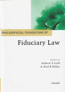 Cover of Philosophical Foundations of Fiduciary Law