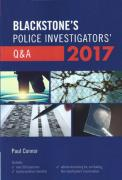 Cover of Blackstone's Police Investigators' Q&A 2017