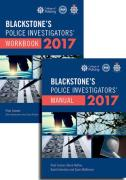 Cover of Blackstone's Police Investigators' Manual and Workbook 2017