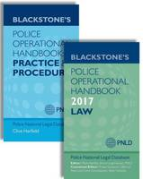 Cover of Blackstone's Police Operational Handbook 2017: Law and Practice & Procedure Pack