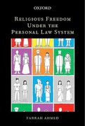 Cover of Religious Freedom Under the Personal Law System