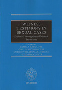 Cover of Witness Testimony in Sexual Cases: Evidential, Investigative and Scientific Perspectives