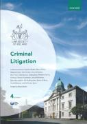 Cover of Law Society of Ireland: Criminal Litigation