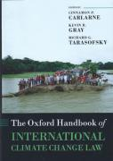 Cover of The Oxford Handbook of International Climate Change Law