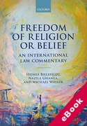 Cover of Freedom of Religion or Belief: An International Law Commentary (eBook)