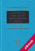 Cover of Guide to the HKIAC Arbitration Rules (eBook)