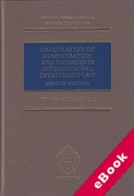 Cover of Calculation of Compensation and Damages in International Investment Law (eBook)