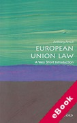 Cover of European Union Law: A Very Short Introduction (eBook)