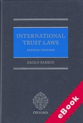 Cover of International Trust Laws (eBook)