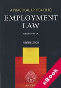 Cover of A Practical Approach to Employment Law (eBook)