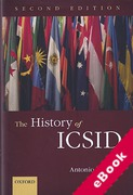Cover of The History of ICSID (eBook)