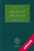 Cover of Abuse of Process: A Practical Approach (eBook)