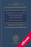 Cover of Conflict of Laws and Arbitral Discretion: The Closest Connection Test (eBook)