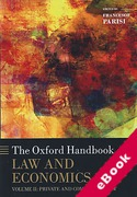 Cover of The Oxford Handbook of Law and Economics Volume 2: Private and Commercial Law (eBook)