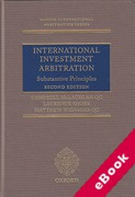Cover of International Investment Arbitration: Substantive Principles (eBook)