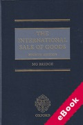 Cover of The International Sale of Goods (eBook)