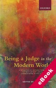 Cover of Being a Judge in the Modern World (eBook)