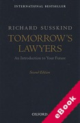 Cover of Tomorrow's Lawyers: An Introduction to Your Future (eBook)
